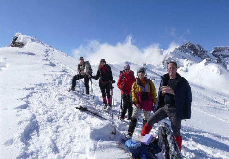 Schneeschuh-Woche in den Dolomiten