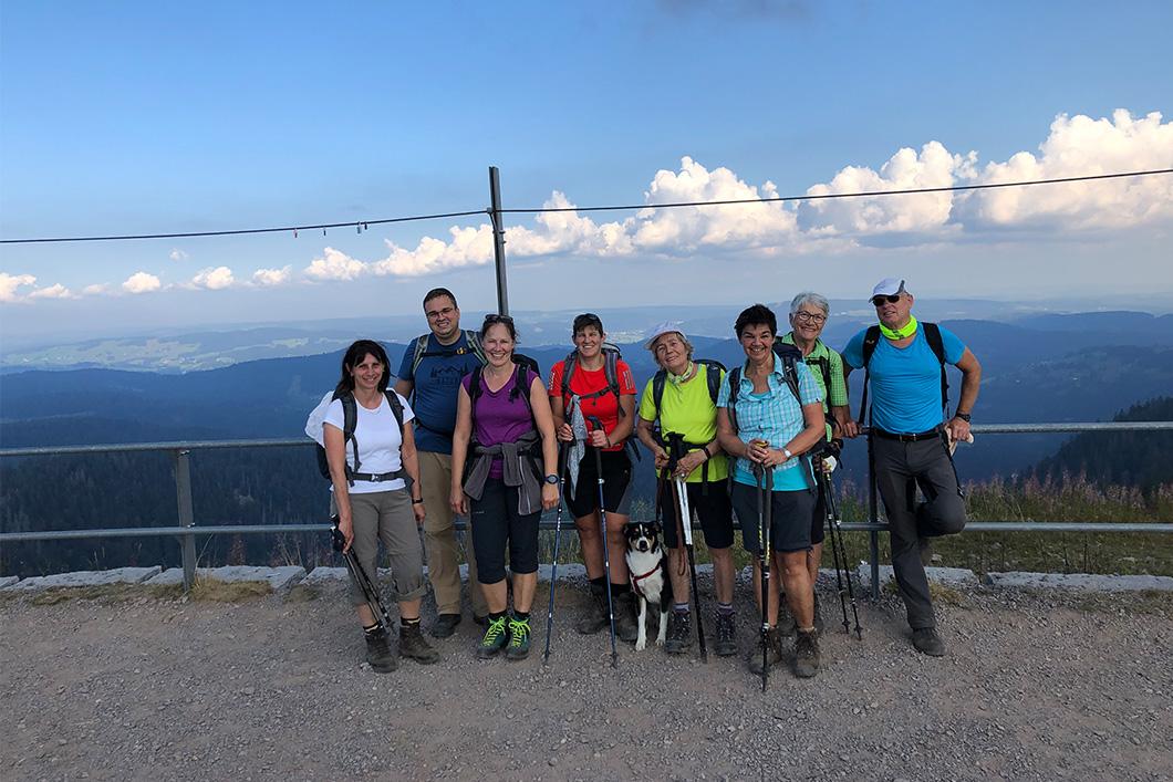 "You are currently viewing Wanderung über den ""Alpinen Pfad"""