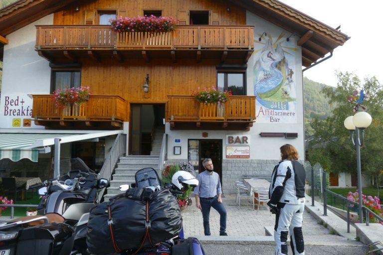 Motorradtour Ostalpen